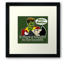 Angel - Is There a Gepetto in the House?! (Buffy) Framed Print