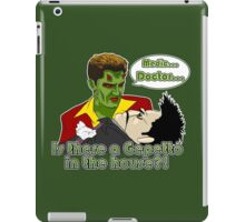 Angel - Is There a Gepetto in the House?! (Buffy) iPad Case/Skin