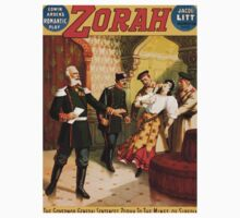 Poster 1890s The governor general sentences Zorah to the mines of Siberia Broadway poster 1899 One Piece - Long Sleeve