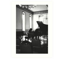 eureka piano performance. Art Print