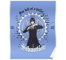 Sebastion - Black Butler  Poster