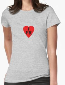 I Love France - Country Code FR T-Shirt & Sticker T-Shirt