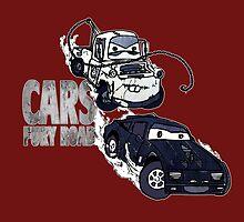 Cars Fury Road by LovelessDGrim
