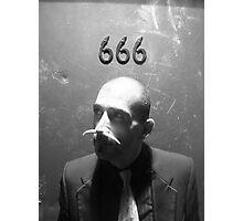 666 Photographic Print