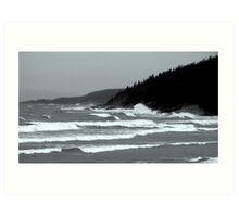 The Fury on Lake Superior, Marathon ONtario Canada Art Print