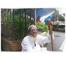 Muslim Beggar Shot  By Marziya Shakir Poster