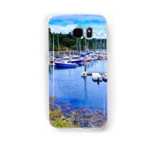 Maine Harbor Samsung Galaxy Case/Skin