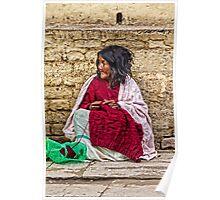 Knitter. Poster