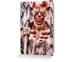 Grave Digger Greeting Card