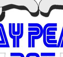 Play Peace  Sticker