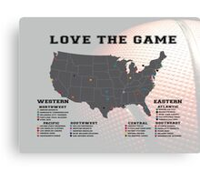 Love The Game (Basketball) Canvas Print
