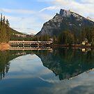 Banff reflection by zumi