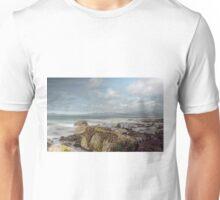 Harlech Beach Scene Unisex T-Shirt