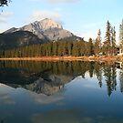 Banff reflection II by zumi
