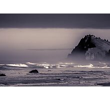 Rocky headland on the Pacific Coast - ST Photographic Print
