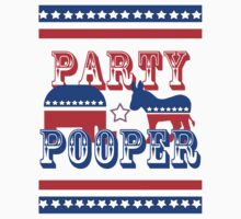 Election Party Pooper One Piece - Short Sleeve