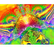 Psychedelic World Photographic Print