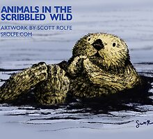 Animals in the Scribbled Wild by SRolfe