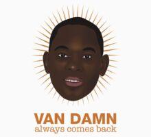 Van Damn always comes back One Piece - Short Sleeve