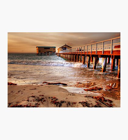 The Queenscliff Pier and Lifeboat Complex Photographic Print