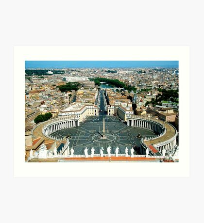 st peters sqaure Art Print