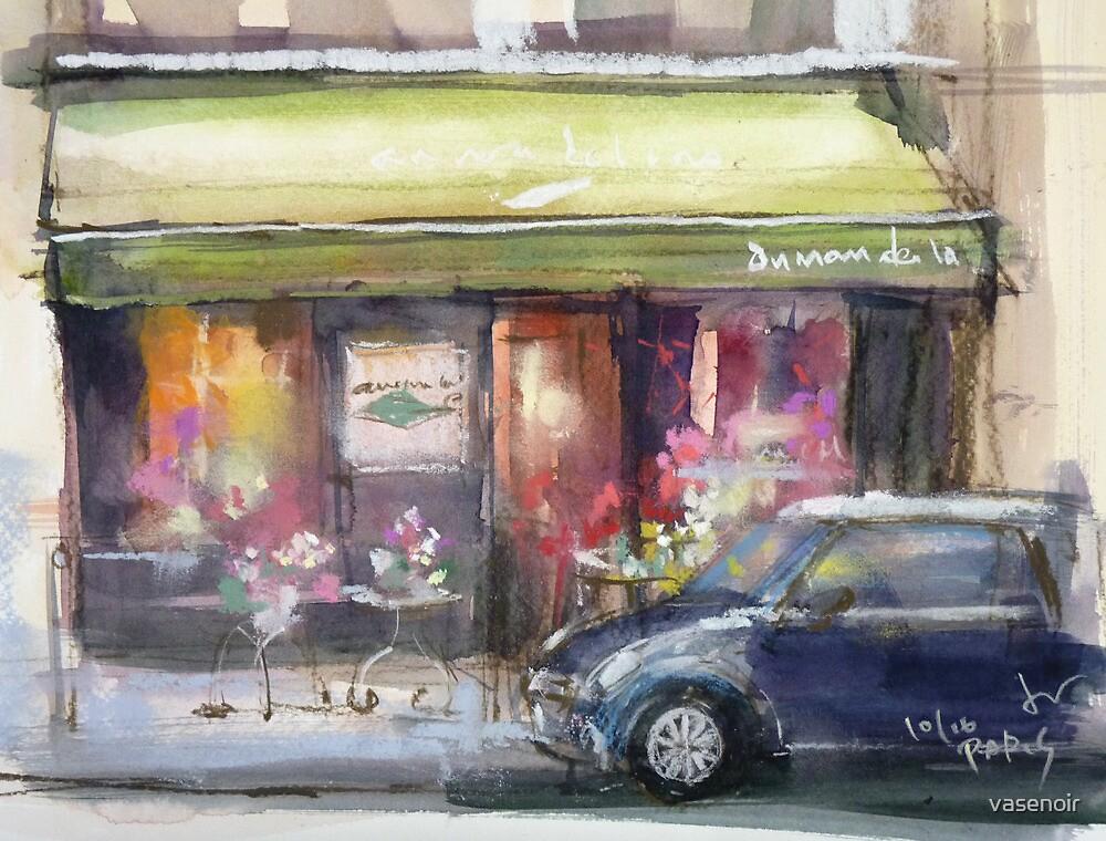 Sketch of Paris ...[au nom de la rose] by vasenoir