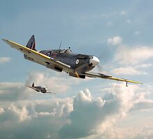 Spitfire - 'High in the Sunlit Silence' by Pat Speirs