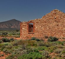 Crumbling Ruins by Terry Everson