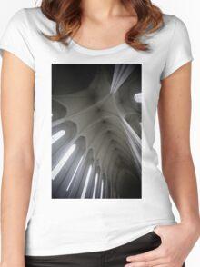 Hallgrímskirkja II Women's Fitted Scoop T-Shirt