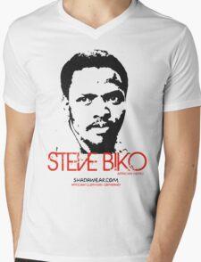 Steve Biko - Afrian Hero Mens V-Neck T-Shirt
