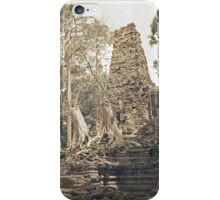 Preah Pallilay, Siem Reap iPhone Case/Skin
