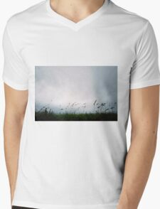In the Wind Mens V-Neck T-Shirt