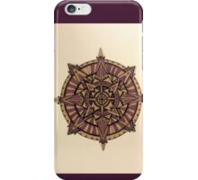 Purple Points Mandala iPhone Case/Skin