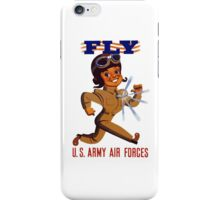 Fly Army Air Forces - WW2 iPhone Case/Skin