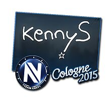 EnVyUs kennyS Cologne 2015 Autogaph Sticker by BRPlatinum