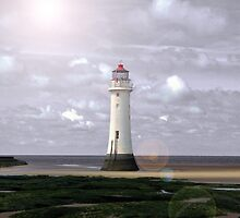 Simply Perch Rock by DavidWHughes