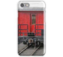 Cumbres & Toltec Passenger Car iPhone Case/Skin