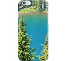 Crystal Blue Lake iPhone Case/Skin