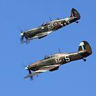 Battle of Britain Memorial flight  by larry flewers