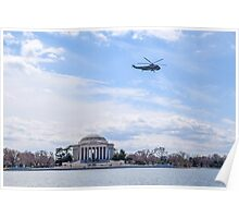 A Presidential Flyby Poster