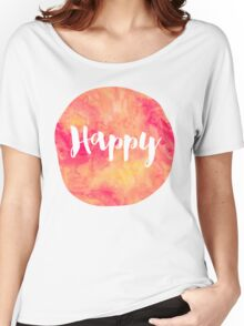 Happy Women's Relaxed Fit T-Shirt