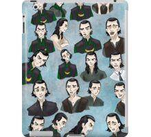 Loki faces iPad Case/Skin