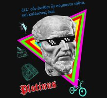 Plotinus and the Forms Mens V-Neck T-Shirt