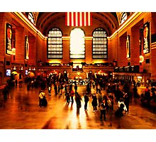 Chaos in Grand Central Photographic Print