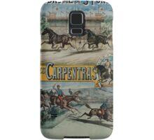 Poster 1890s St Ponchon affiche Samsung Galaxy Case/Skin
