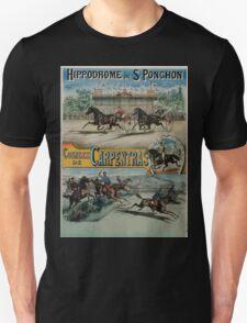 Poster 1890s St Ponchon affiche T-Shirt