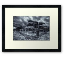 Crossed Diagonals Framed Print