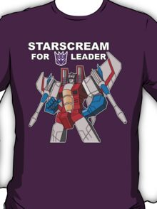 Starscream For Decepticon Leader T-Shirt