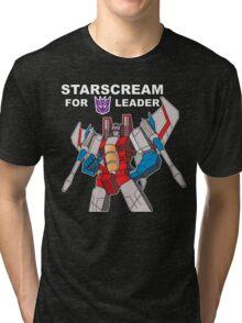 Starscream For Decepticon Leader Tri-blend T-Shirt