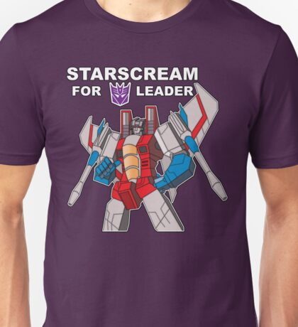 Starscream For Decepticon Leader Unisex T-Shirt